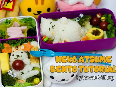 DIY Neko Atsume Bento Tutorial collab with Ocha Drop!