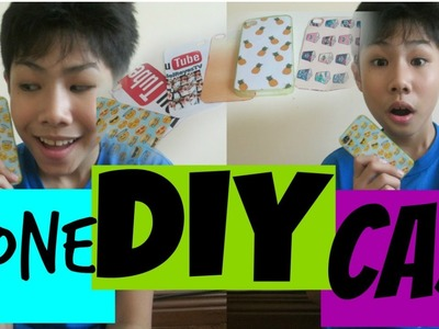 DIY PHONE CASE | RenielReyesTV