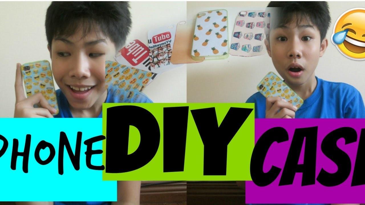 DIY PHONE CASE   RenielReyesTV