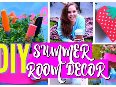 DIY Summer Room Decor Ideas 2016
