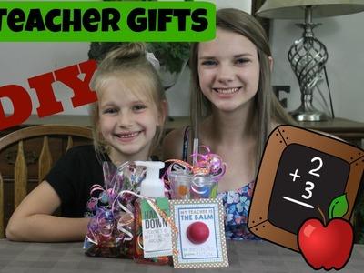 DIY Teacher Gifts | Easy Gift Ideas