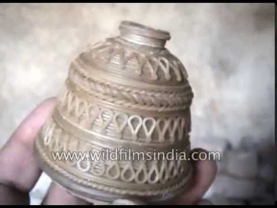 Dokra is a 4000 year old metal craft from India