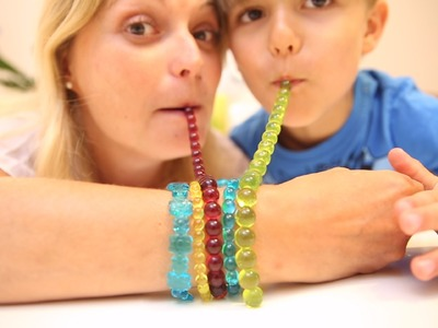 Gummy Jewelry - DIY Gummy - How To Make - Eat Your Jewellery