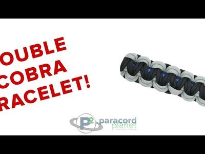 How To Make A Double Cobra Bracelet - Paracord Planet Tutorial