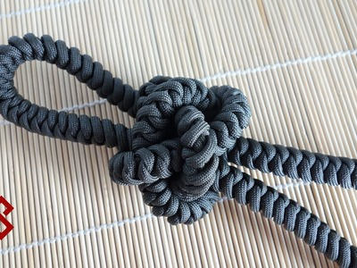 How to Make an OVERSIZED Diamond Knot.  Tutorial?