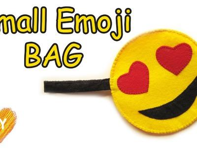 How to sew a Small Emoji bag. Easy DIY.
