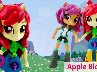 New Custom APPLE BLOOM My Little Pony Equestria Girl Minis Doll Tutorial