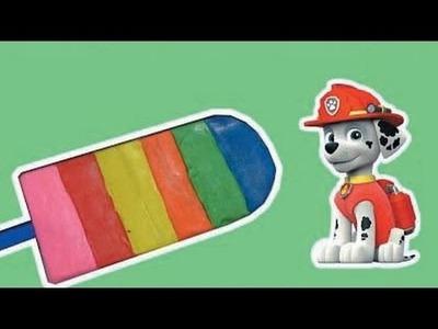 PLAY DOH FROZEN ^^  Create Ice-cream play-doh Rainbow Paw patrol ~ Videos Kids!!
