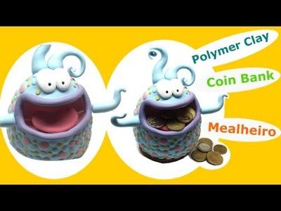 Polymer clay (Fimo) coin bank- Tutorial