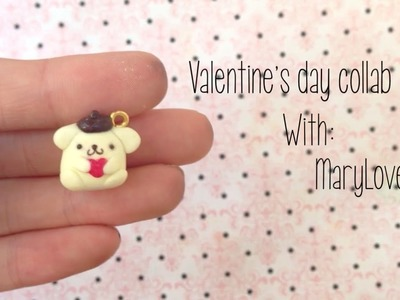 PomPomPurin Charm | Polymer Clay Tutorial {Collab With MaryLovesClay}