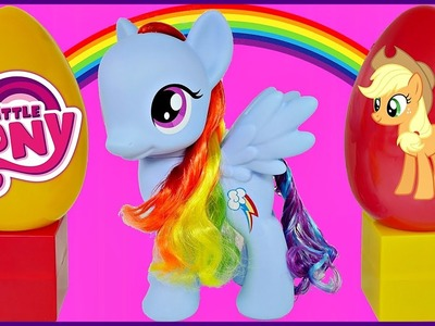 RAINBOW DASH Giant Figure Rainbow Fun Figure MLP My Little Pony Applejack Twilight Sparkle Fashems