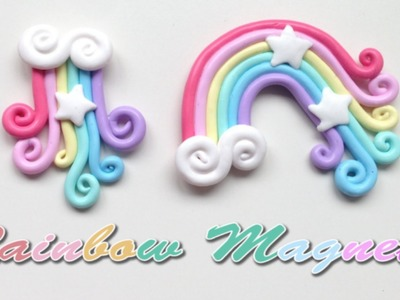 Rainbow Magnets | Polymer Clay Tutorial