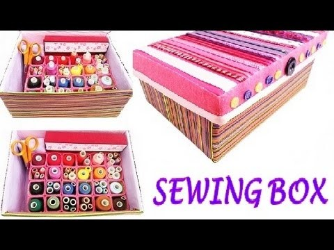 Sewing BOX out of shoebox