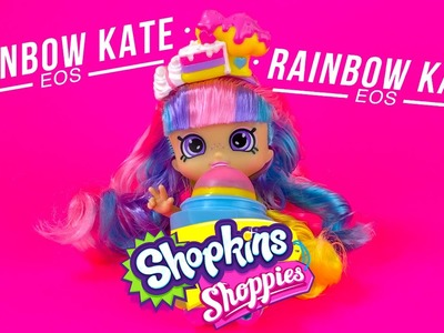 Shopkins Shoppies Rainbow Kate Blueberry EOS Lip Balm DIY Learn How To Make