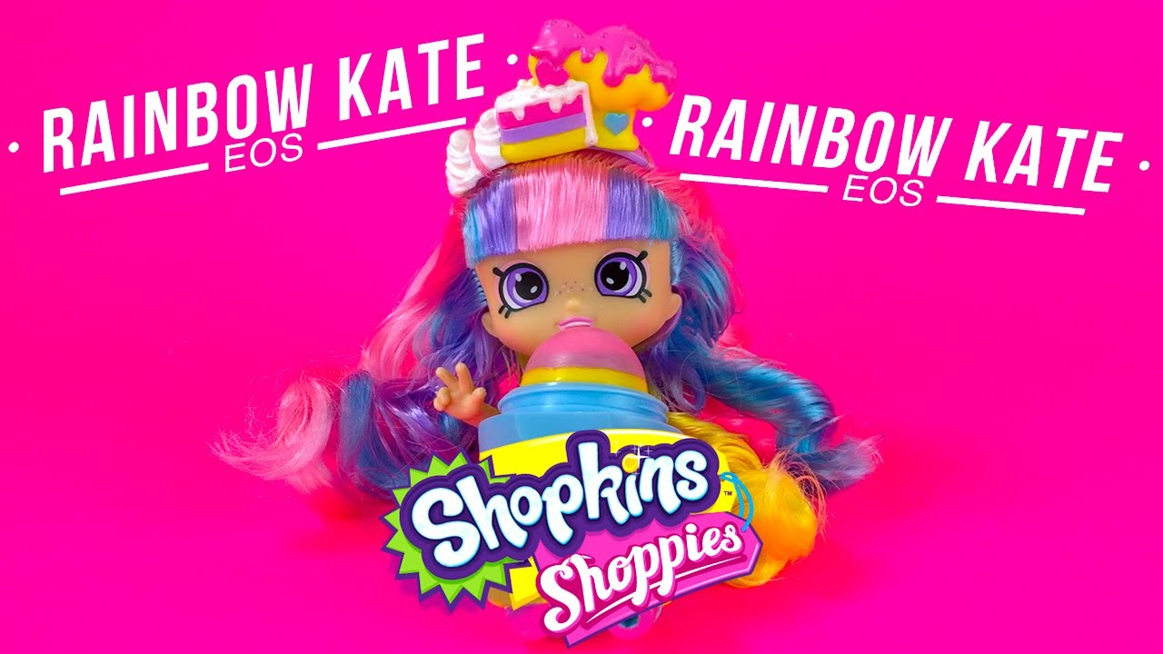 Shopkins Shoppies Rainbow Kate Blueberry EOS Lip Balm DIY Learn How To Make