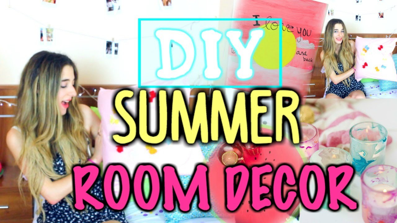 Summer Diy Tumblr Inspired Room Decor How To Decorate You Cheap Easy