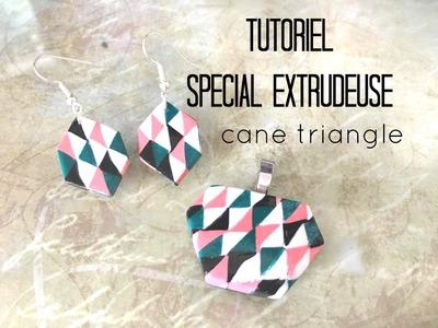 Tuto #49 - SPECIAL EXTRUDEUSE - Cane triangles  -