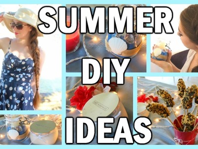 3 Summer DIYs You Need To Try! DIY Room Decor, Treats, & Body Scrub!