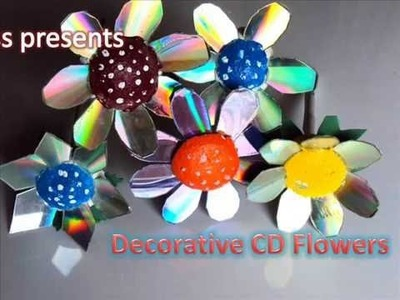 Best Out of The Waste Idea for Home Decoration using Recycled CD'S