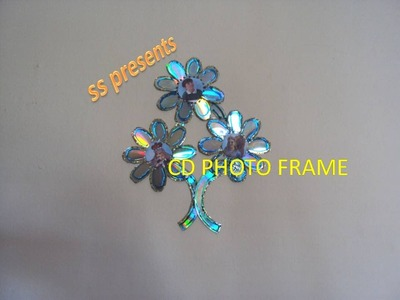 CD PHOTO FRAME OR WALL DECOR