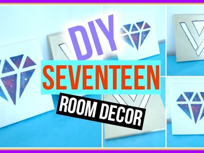 DIY KPOP. SEVENTEEN Room Decor | KpopStyled
