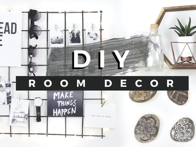 DIY Room Decor Tumblr Inspired! (Dollar Store DIYs)