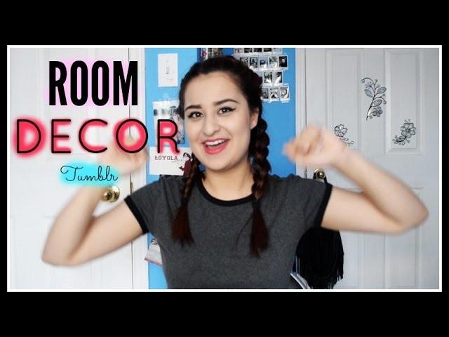 DIY Room Decor Tumblr Inspired!
