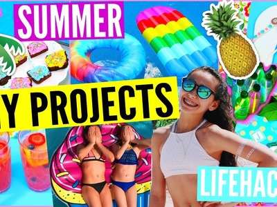 DIY Summer Projects That Everyone Must Know! Activities, Food, & More!