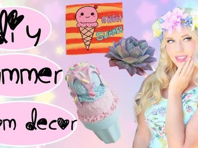 DIY Summer Room Decor - Tumblr & Pinterest Inspired!