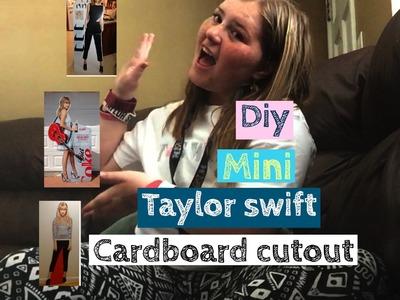 DIY Taylor swift cardboard cut out