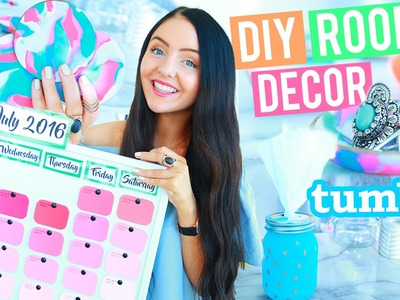 EASY DIY ROOM DECOR + ORGANIZATION! DIYs you NEED to try! + Cute and Affordable!
