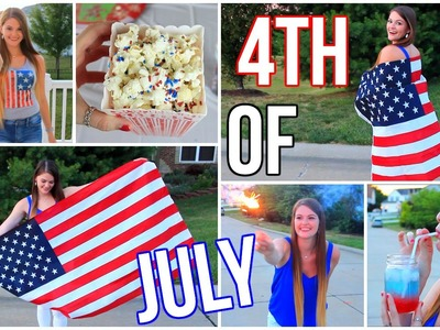 Fourth Of July DIY Snacks & Treats, DIY Clothes, & Outfit Ideas!