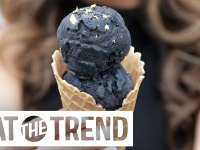 How to Make Black Ice Cream at Home | Eat the Trend