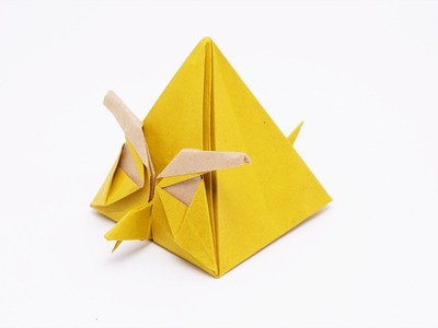 Origami Angry Yellow Bird - Chuck (Ryan Dong)