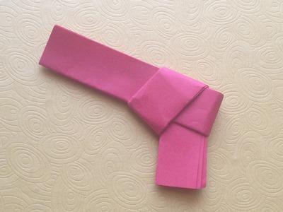 Origami Easy Gun - Origami For Beginners