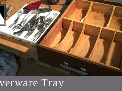 46: How to Make a Kitchen Drawer Organizer