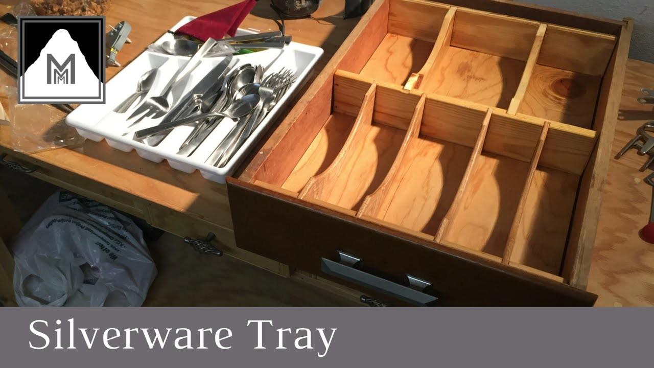 46: How to Make a Kitchen Drawer Organizer