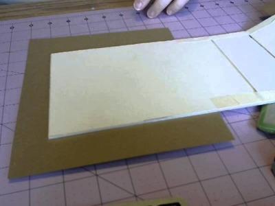 Card.Envelope mini album tutorial Part 3
