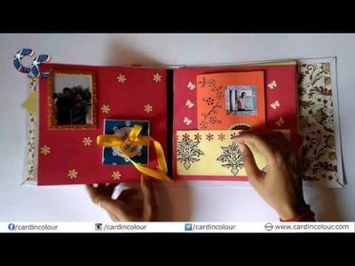 Card In Colour: Best handmade customized greeting card. Scrapbook