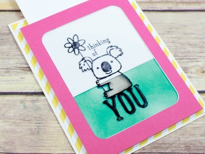 Color Magic Slider Card Tutorial