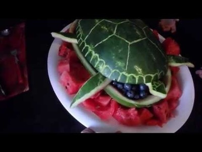 DIY How to Create - Turtle Watermelon