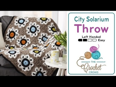 How to Crochet An Afghan: Solarium Throw