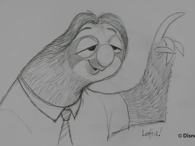How to Draw Flash - Zootopia in Theatres this Friday!