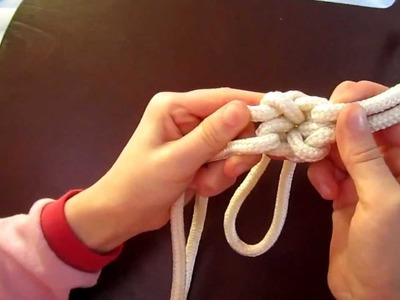 How to tie the Fiador Knot for a Rope Halter