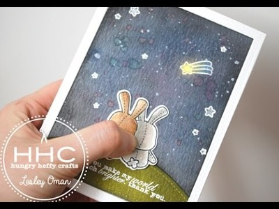 Light Up Snuggle Bunny - An LED in a Card!