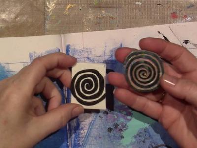 Making Foam Stamps