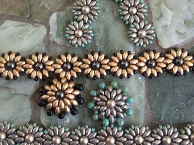 Mini - Duo Daisy Chain Ankle Bracelet