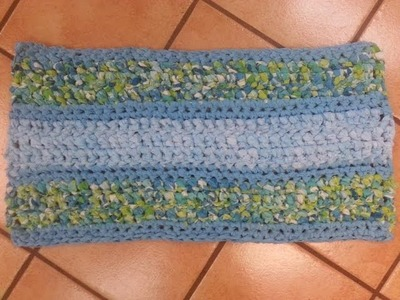 Runner Rag Rug with a Spin Part 2