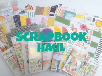 Scrapbook Completed Fauxbonichirapbook Journal Flip Through