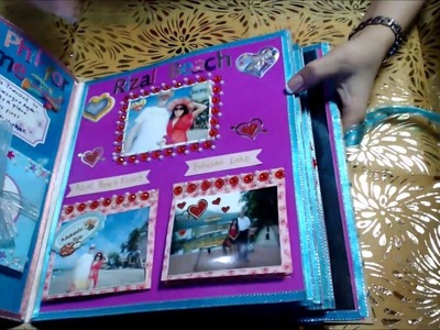 """""""SCRAPBOOK OF OUR FIRST YEAR JOURNEY 2015""""(Valentines Gift) Filipina-American LDR"""